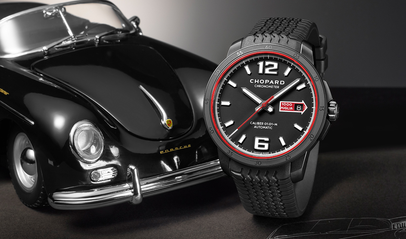 Pulkstenis Chopard Mille Miglia GTS Automatic Speed Black