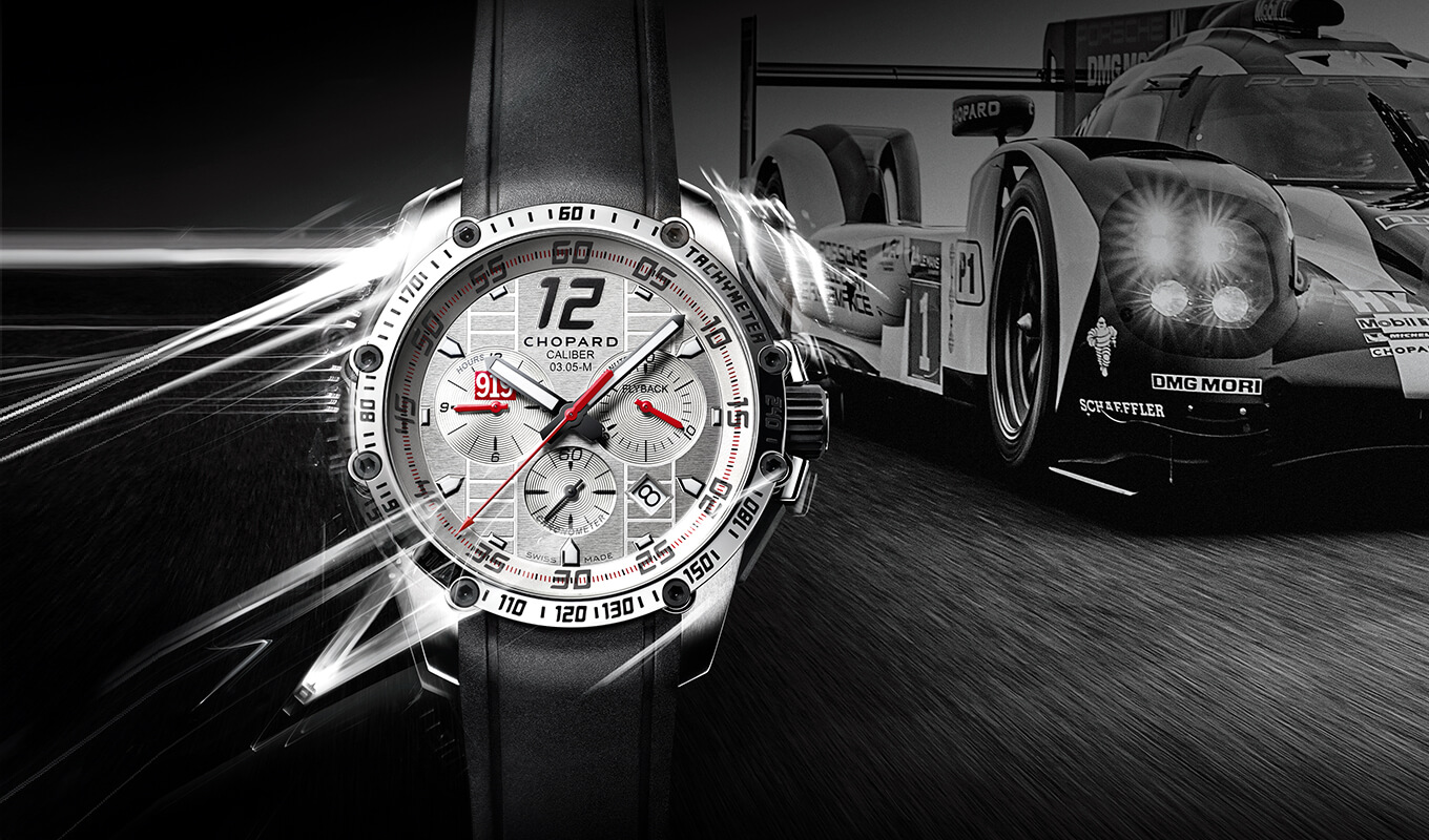 Часы Chopard Superfast Chrono Porsche 919 Edition из стали